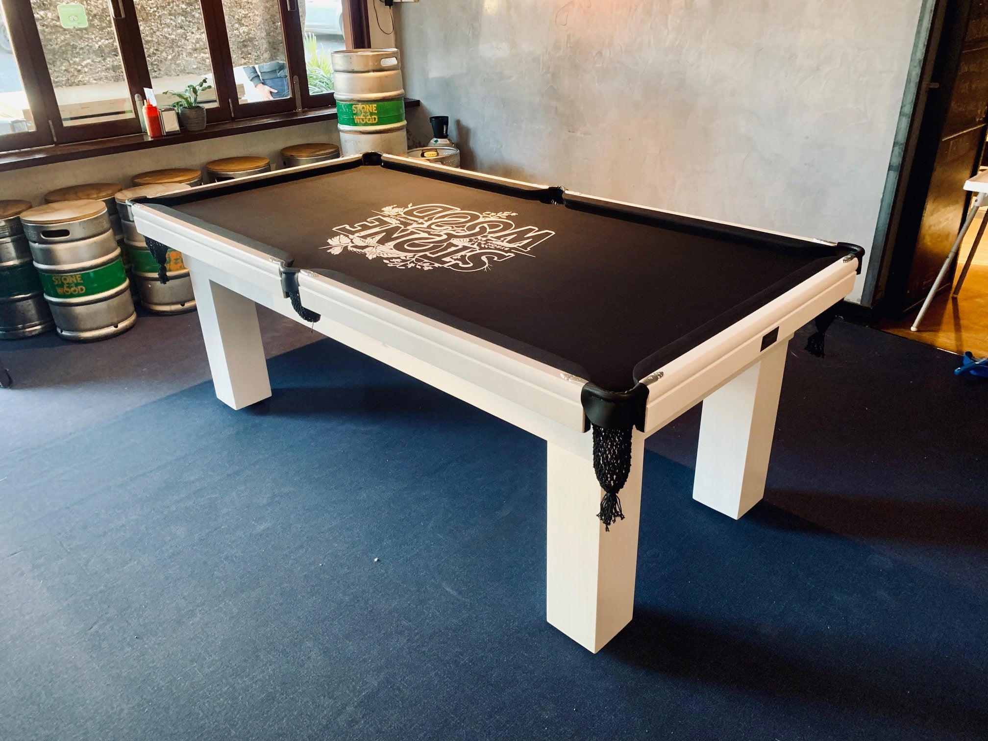 Custom Made To Order Printed Pool Snooker Billiard Table Felt Cloth