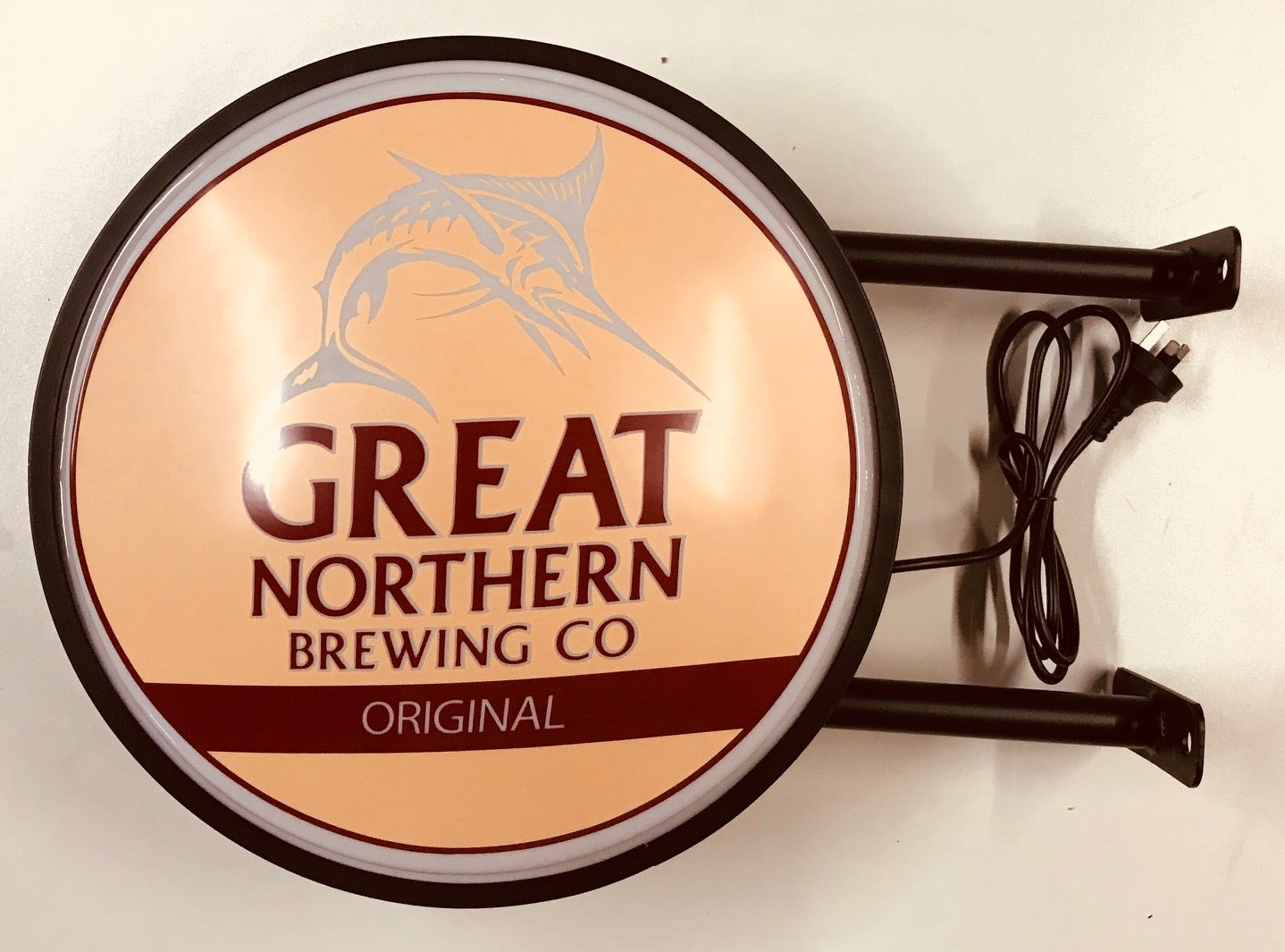 Great Northern Original Co Brewing Beer Bar Lighting Wall Sign Light LED