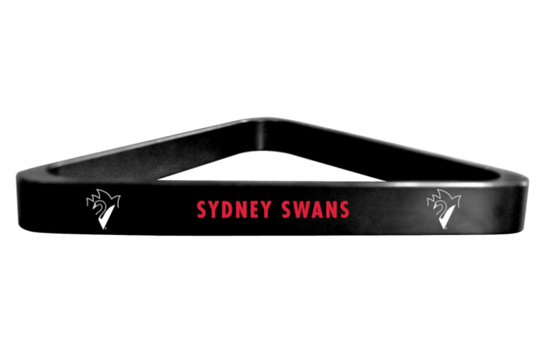 Sydney Swans AFL Kelly Pool Snooker Billiard Table Ball Triangle Rack