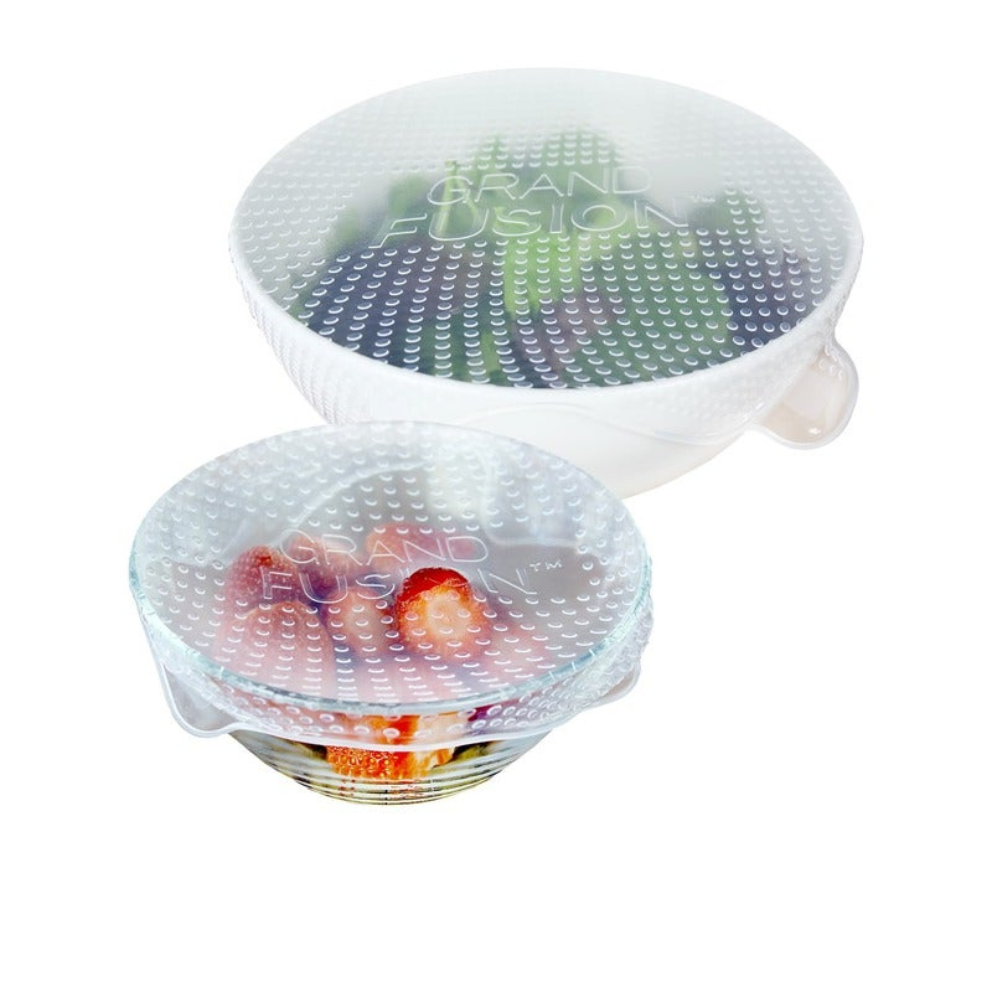 Grand Fusion 3pc Silicone Food Wrap Set XL