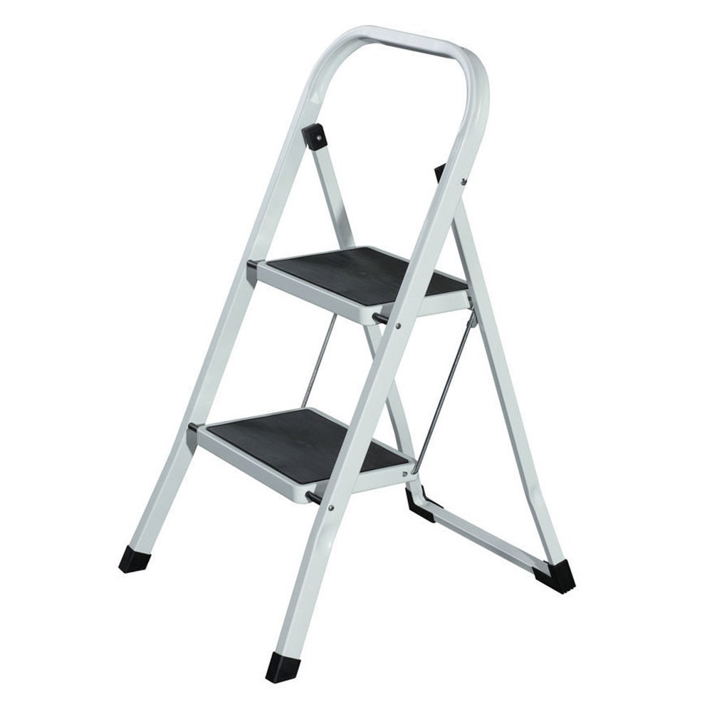 GAF GSL2 2 Step Foldable Ladder 25-50cm Step - 4.3kg Lightweight/Stool/Folding
