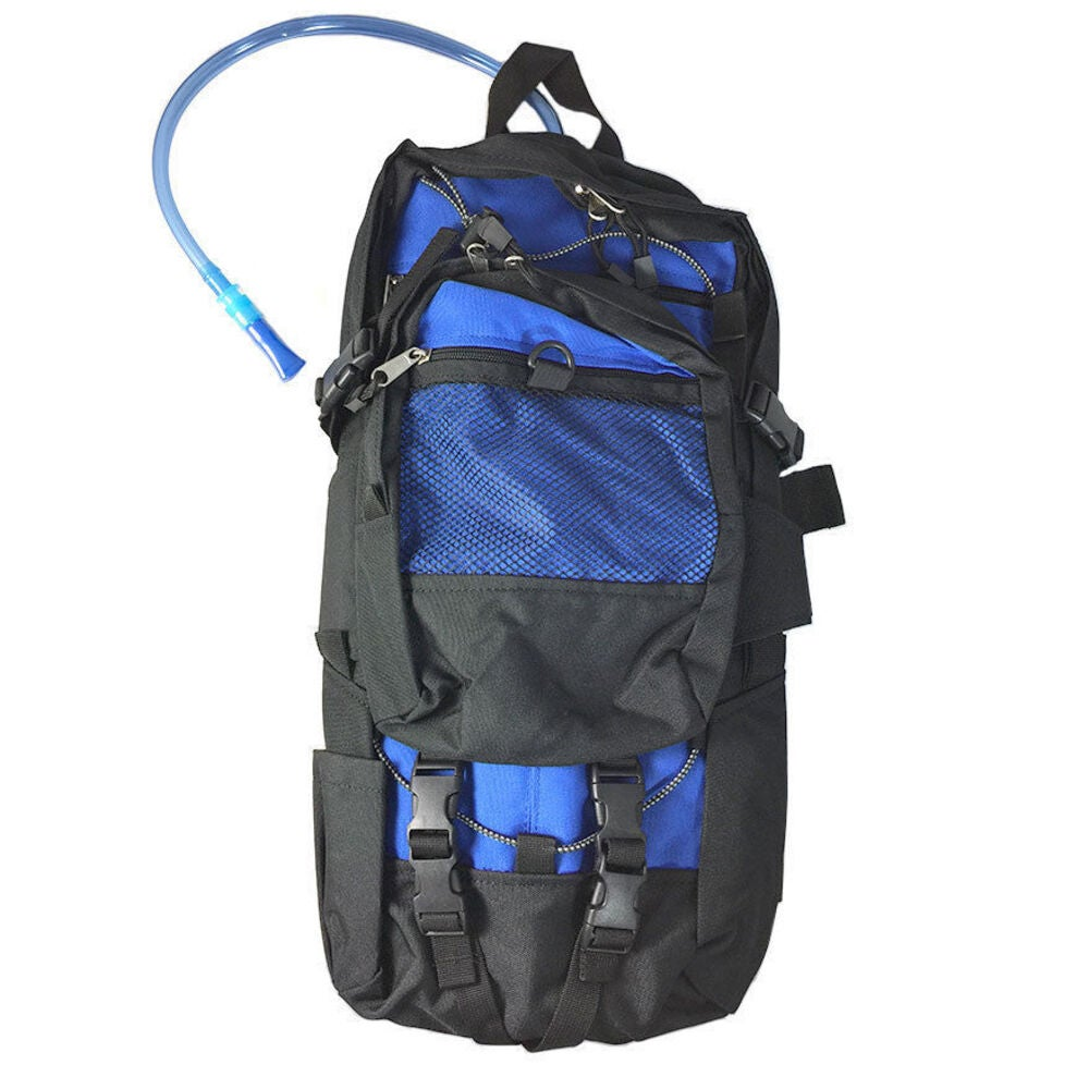 2L Quench Hydration Backpack Rucksack Back Pack Water Bag Camping Hiking Cycling