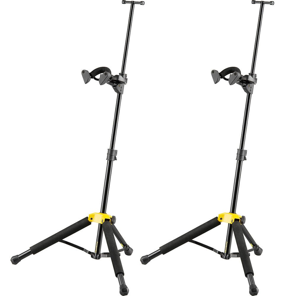 2x Hercules Auto Grip System Portable Foldable Stand/Holder/Bag for Violin/Viola