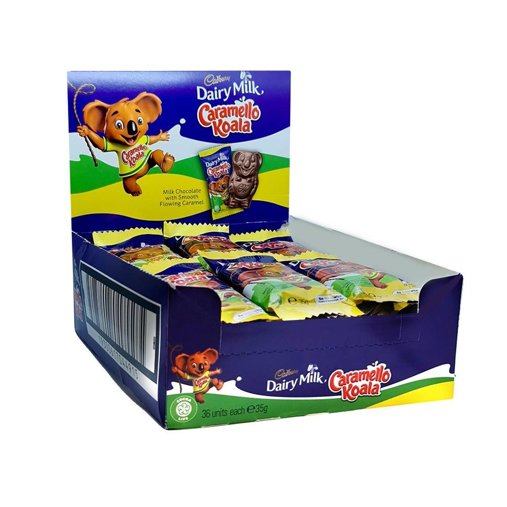 36pc Cadbury Dairy Milk Caramello Giant Koala 35g Chocolate Caramel Sweet Snacks