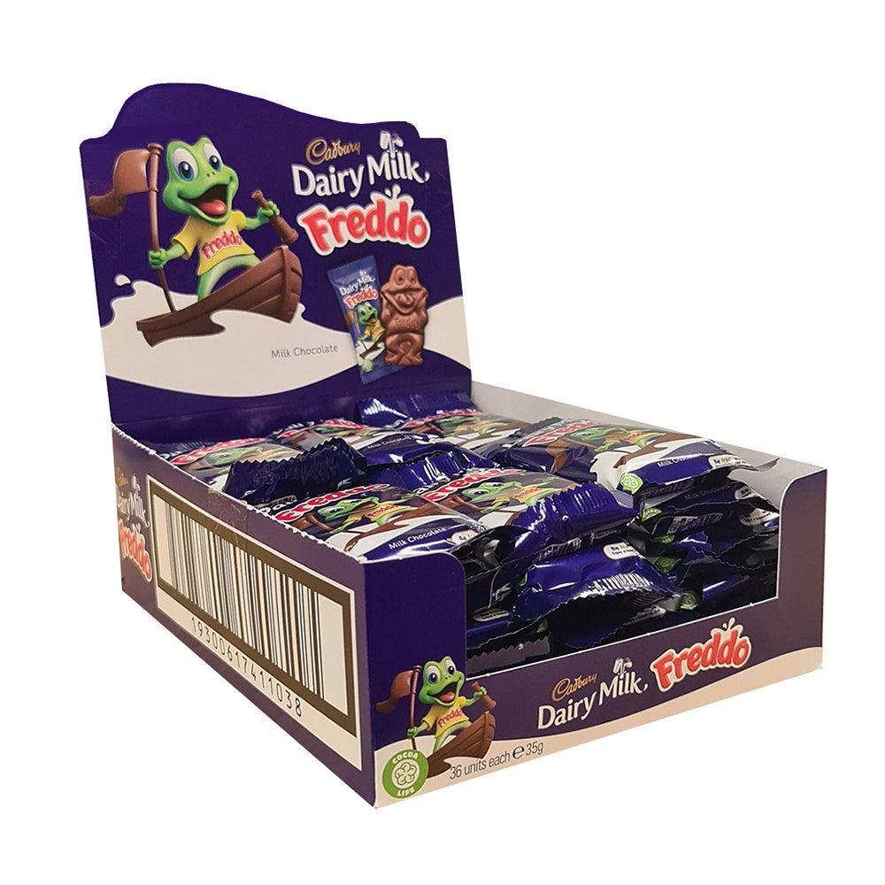 36pc Cadbury Giant Dairy Milk Chocolate Freddo Frog 35g Confectionery Sweets