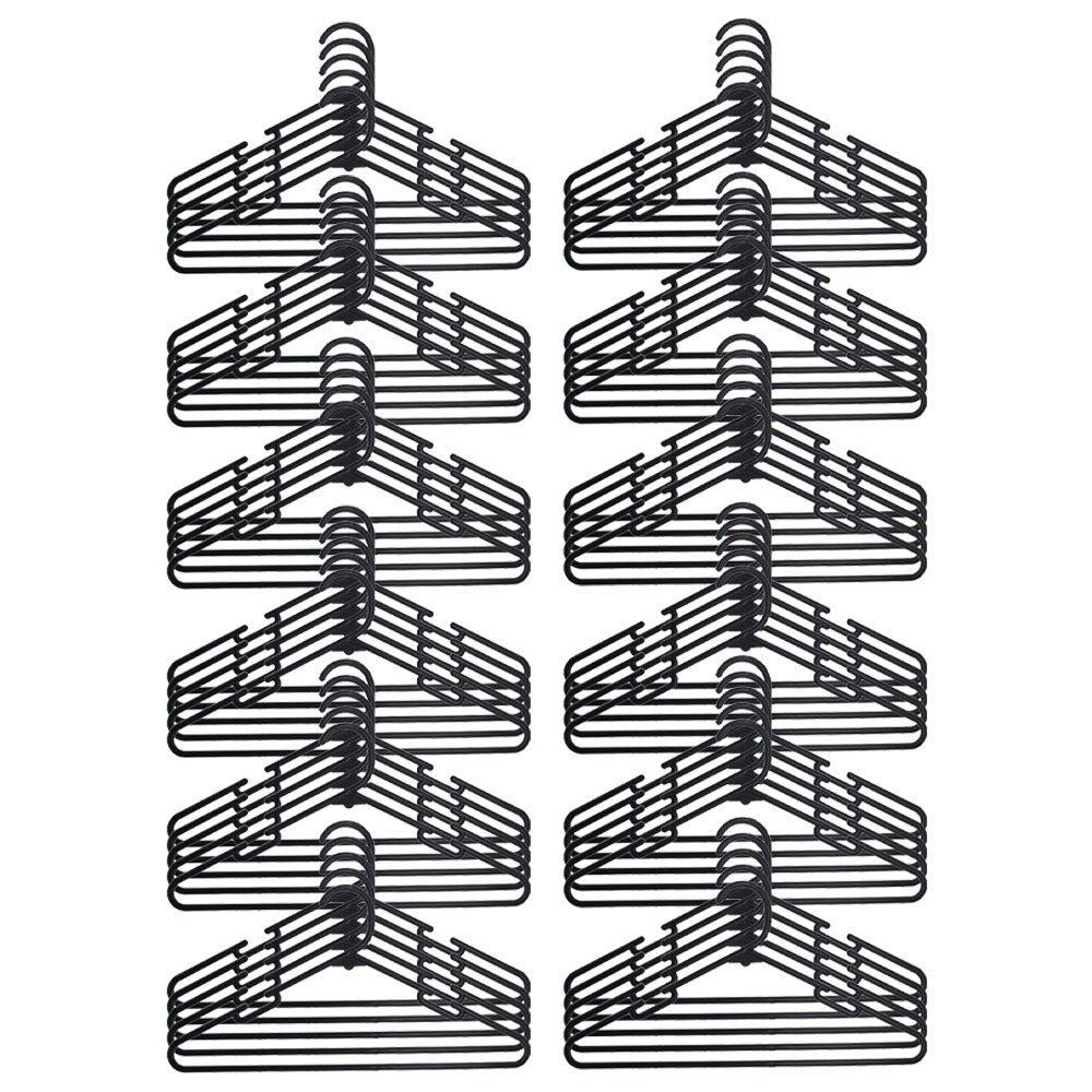 60pc Boxsweden 40cm Plastic Hanger/Storage Wardrobe Organiser for Clothes/Shirt