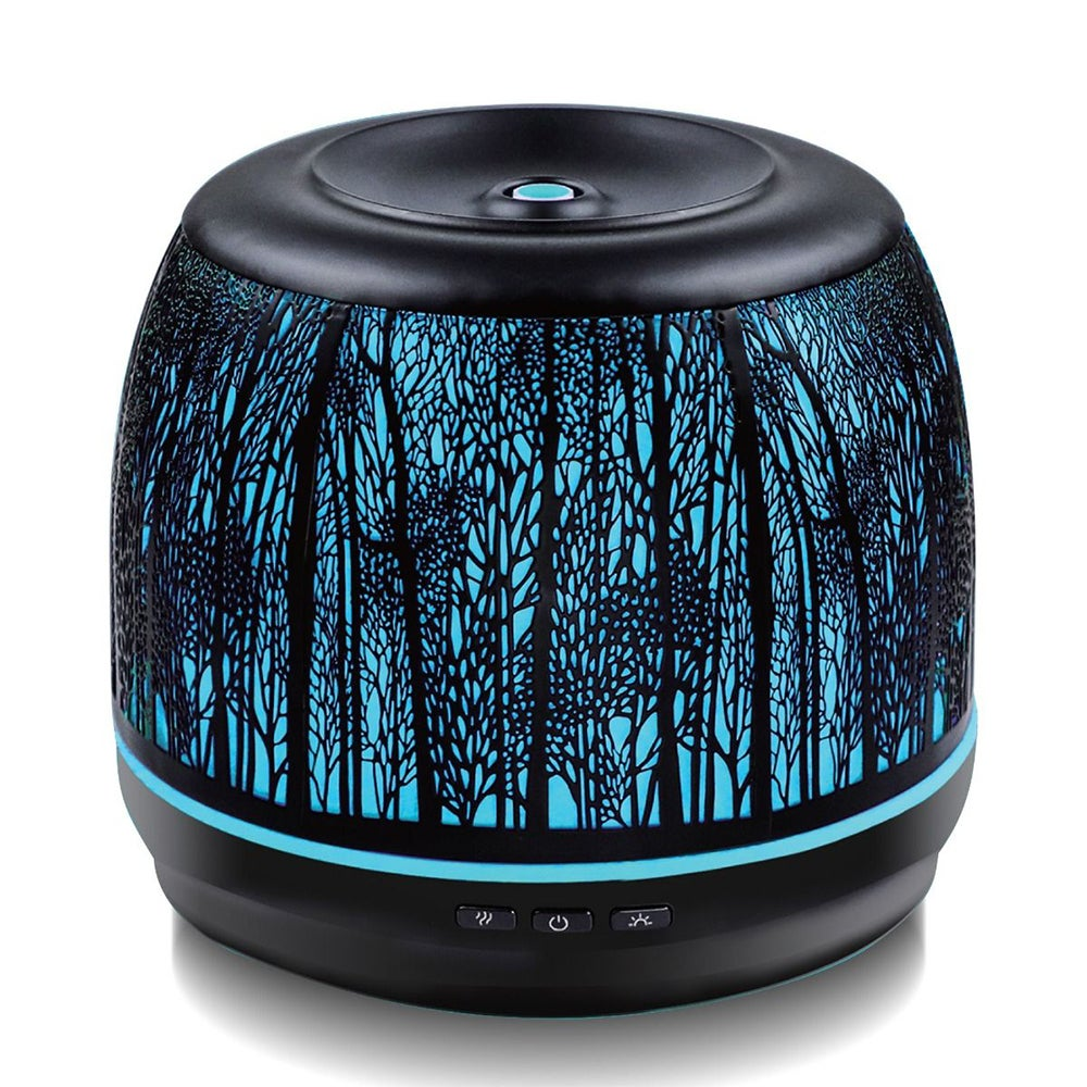 Activiva 500ml Electric LED Aroma/Fragrance Diffuser/Humidifier Metal Vintage BK