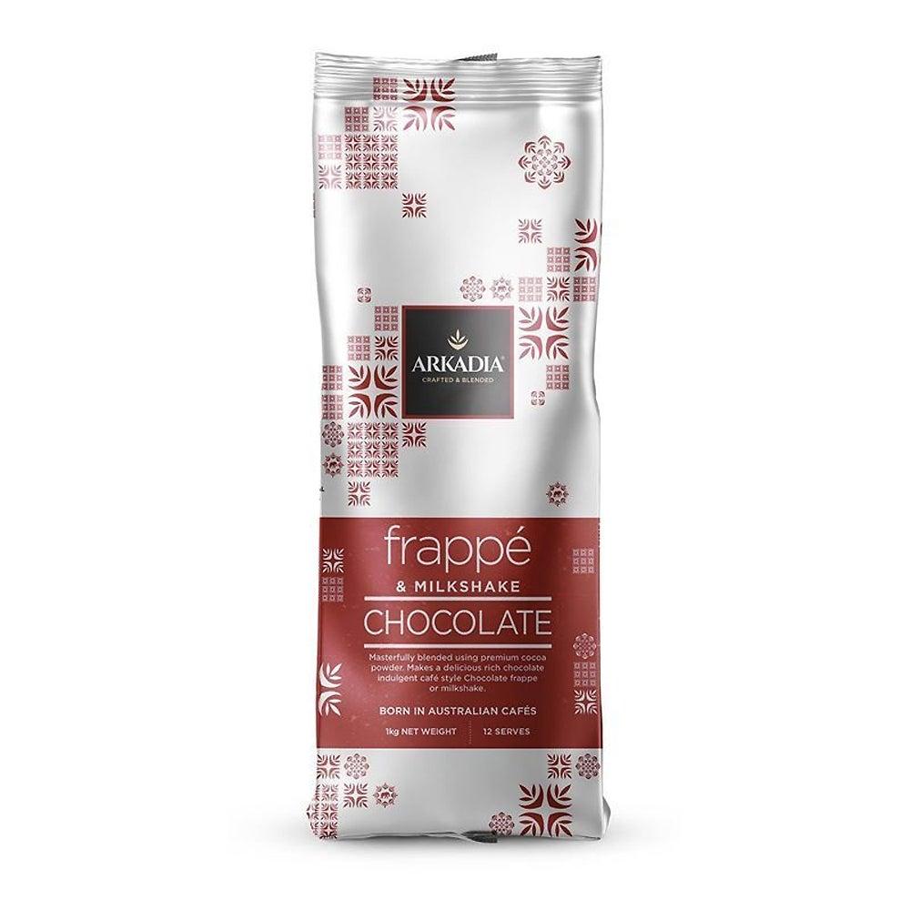 Arkadia 1kg Drinking Chocolate Frappe Powder Hot/Cold/Ice/Blended Beverage Drink