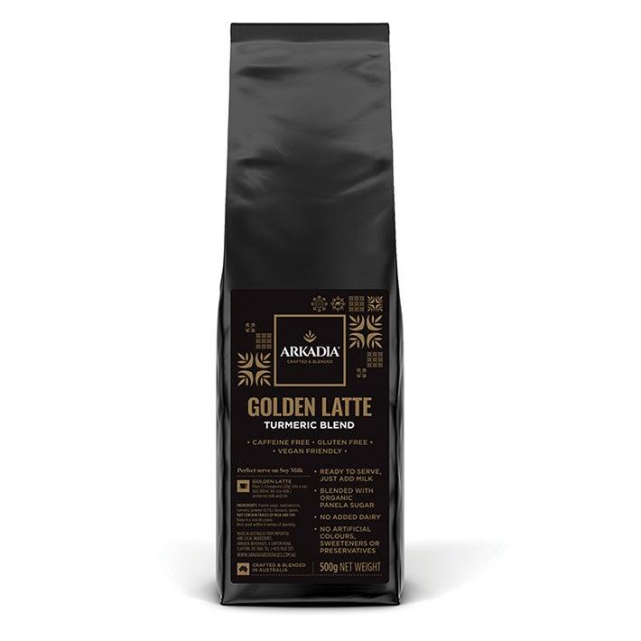 Arkadia 500g Golden Turmeric Latte Powder Chai/Coffee/Tea Hot/Cold Beverage