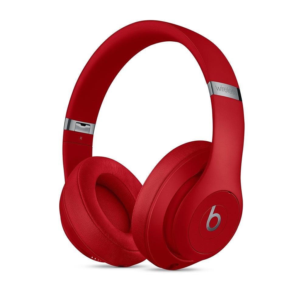 Beats Studio3 Active Noise Canceling Bluetooth/Wireless Over-Ear Headphones Red