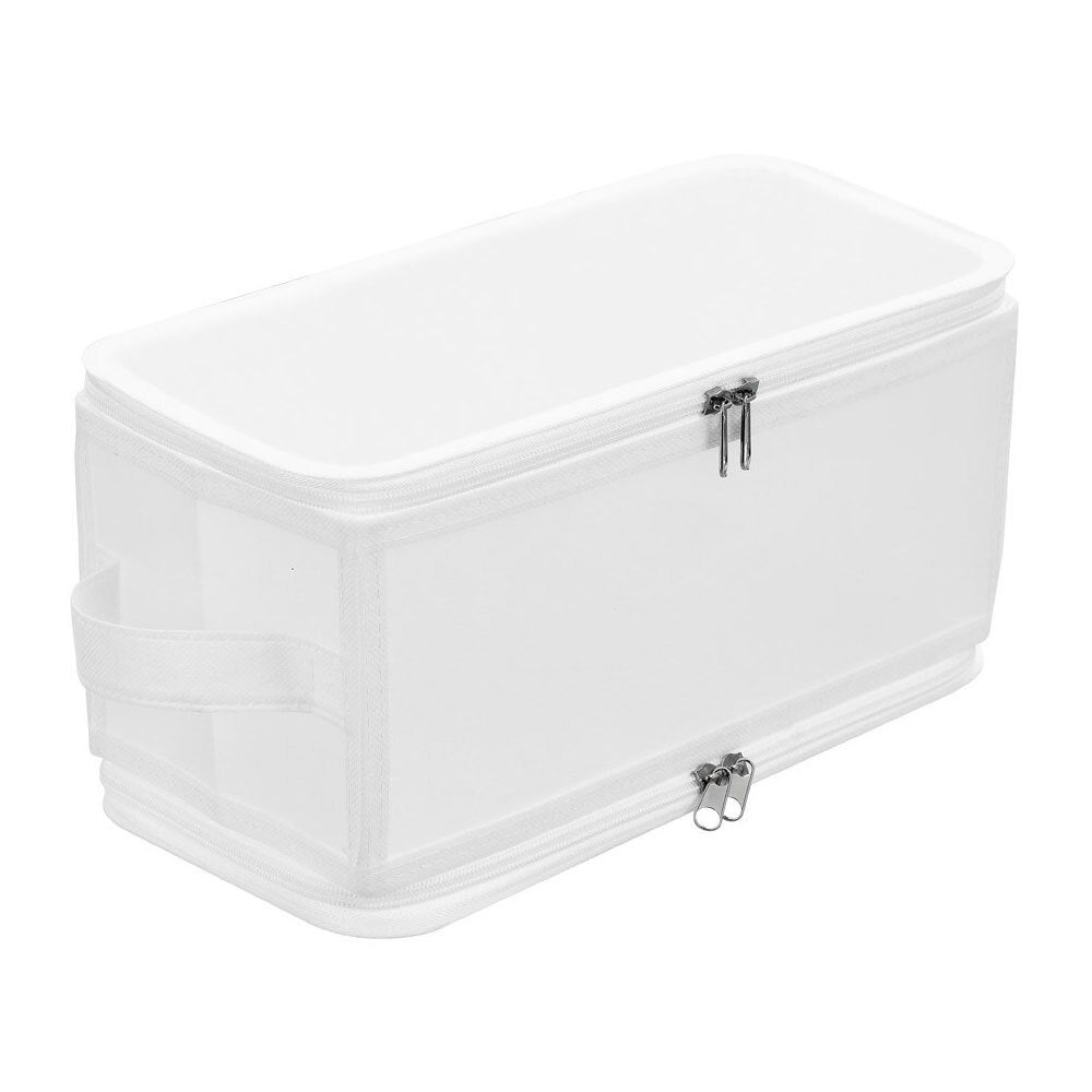 Box Sweden 6.7L Foldaway 30cm Storage Box Collapsible Organiser Container White