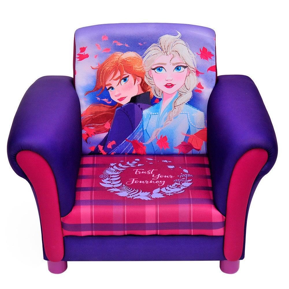Children/Kids Furniture Upholstered Chair Frozen 2/Sofa Armchair Couch - Purple