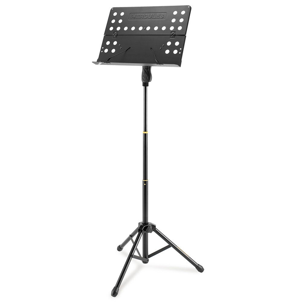 Hercules Orchestra Adjust. Tripod Stand/Holder w/Foldable Desk for Music Sheet