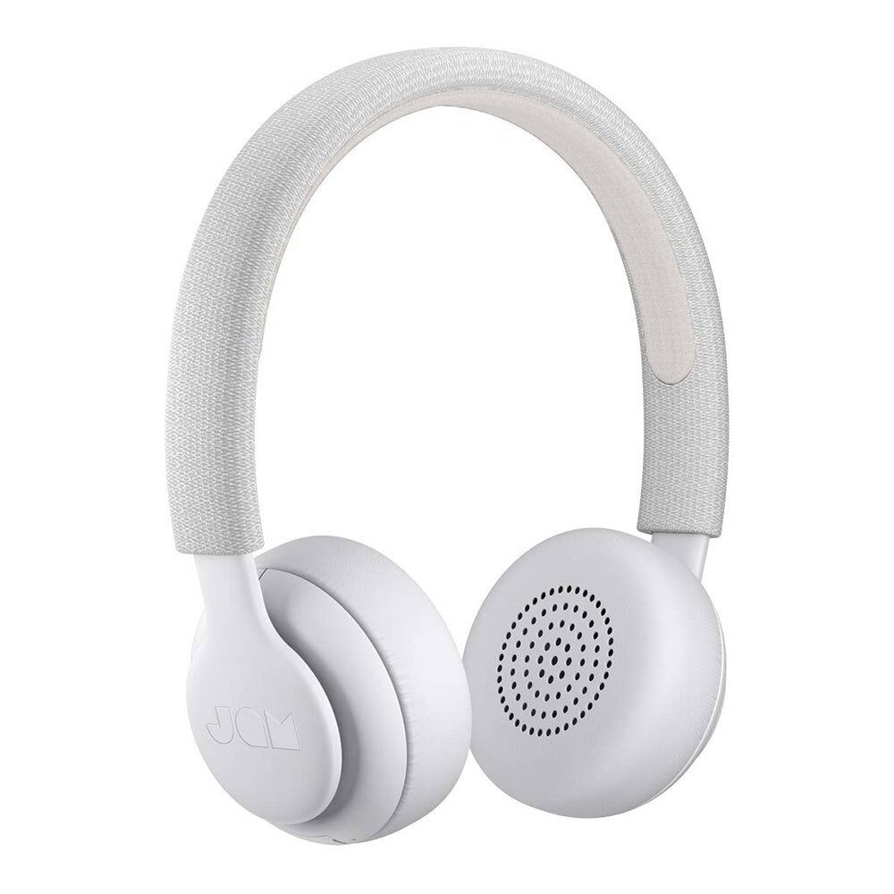 Jam Been There Wireless Bluetooth On-Ear Headphones w/ Mic for Smartphones Grey