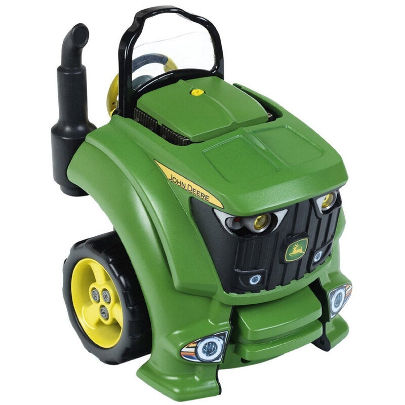 John Deere Service Tractor Engine Farm Vehicle Toy/Kids/Play w/ Lights/Sounds