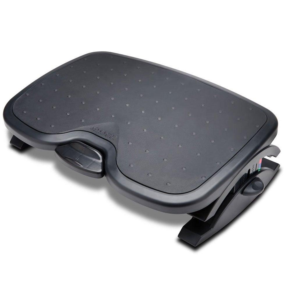 Kensington Black SmartFit Solemate Plus Foot Rest Professional Posture Support