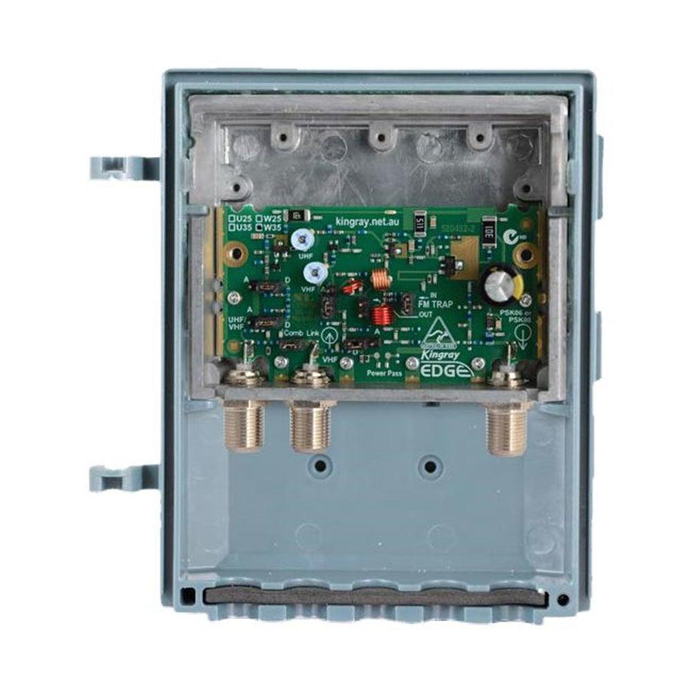 Kingray Digital TV Masthead Amplifier Booster Filter for Aerial Antenna