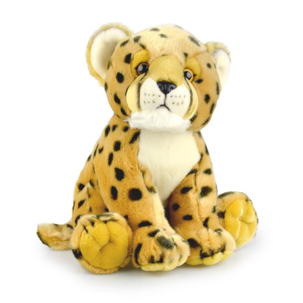 Korimco 30cm Friendlee Cheetah Kids Animal Soft Plush Stuffed Toy Brown 3y+