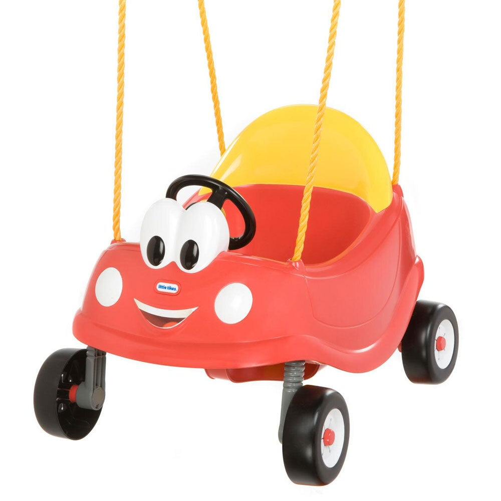 Little Tikes Cozy Coupe First Swing Seat Kids Ride On Toy Baby/Toddler 12m+ Red