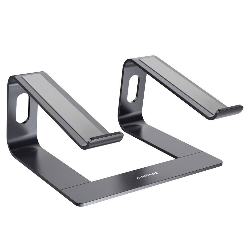 """Mbeat Stage S1 Aluminium Elevated Stand Holder for 16"""" Laptop/Notebook Space GRY"""