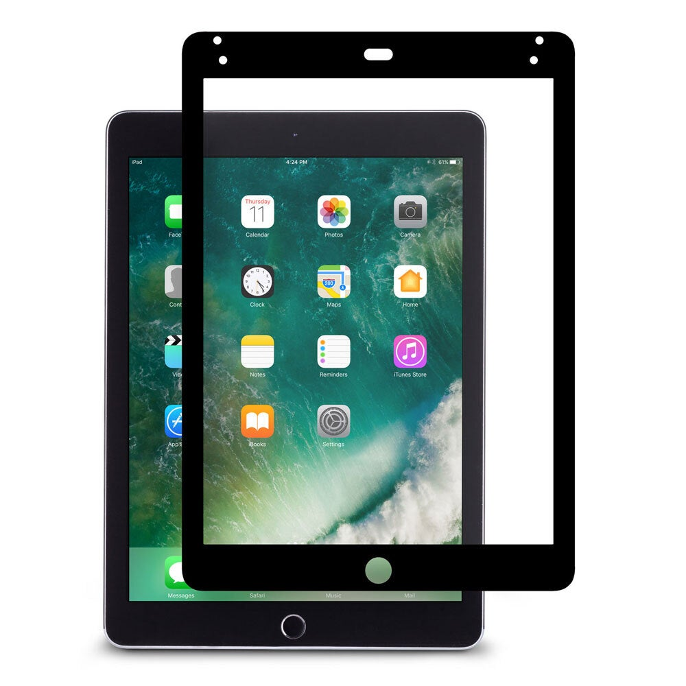 "Moshi iVisor Anti Glare/Washable 9.7"" Screen Protector For iPad 5th/6th Gen BLK"