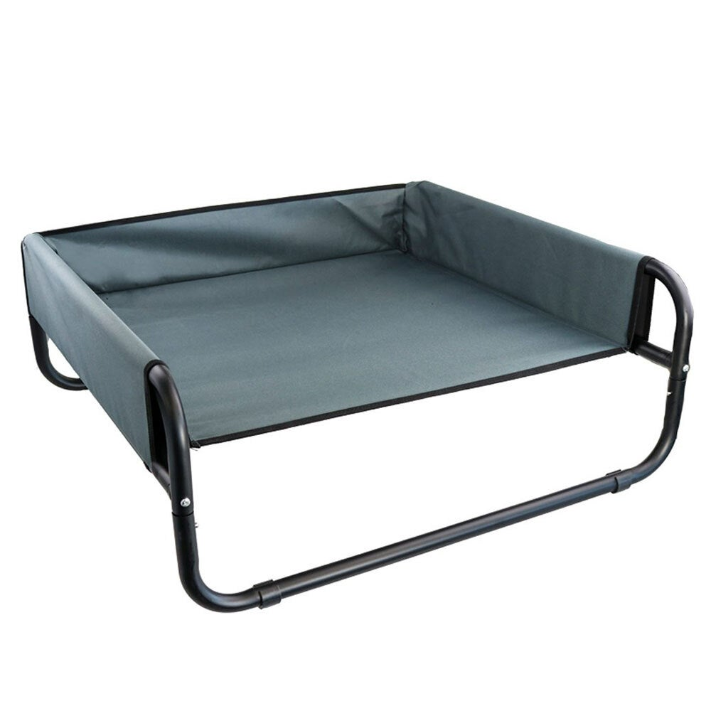 Paws & Claws 85cm Heavy Duty Elevated High Walled Dogs/Pets Durable Bed Large
