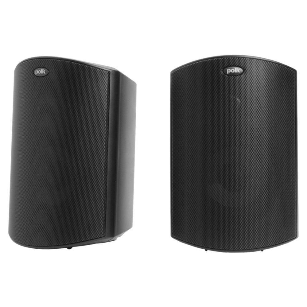 """Polk Audio Atrium 5 Wall Mount/Outdoor Speakers w/5"""" Drivers/3/4"""" Tweeters Black"""