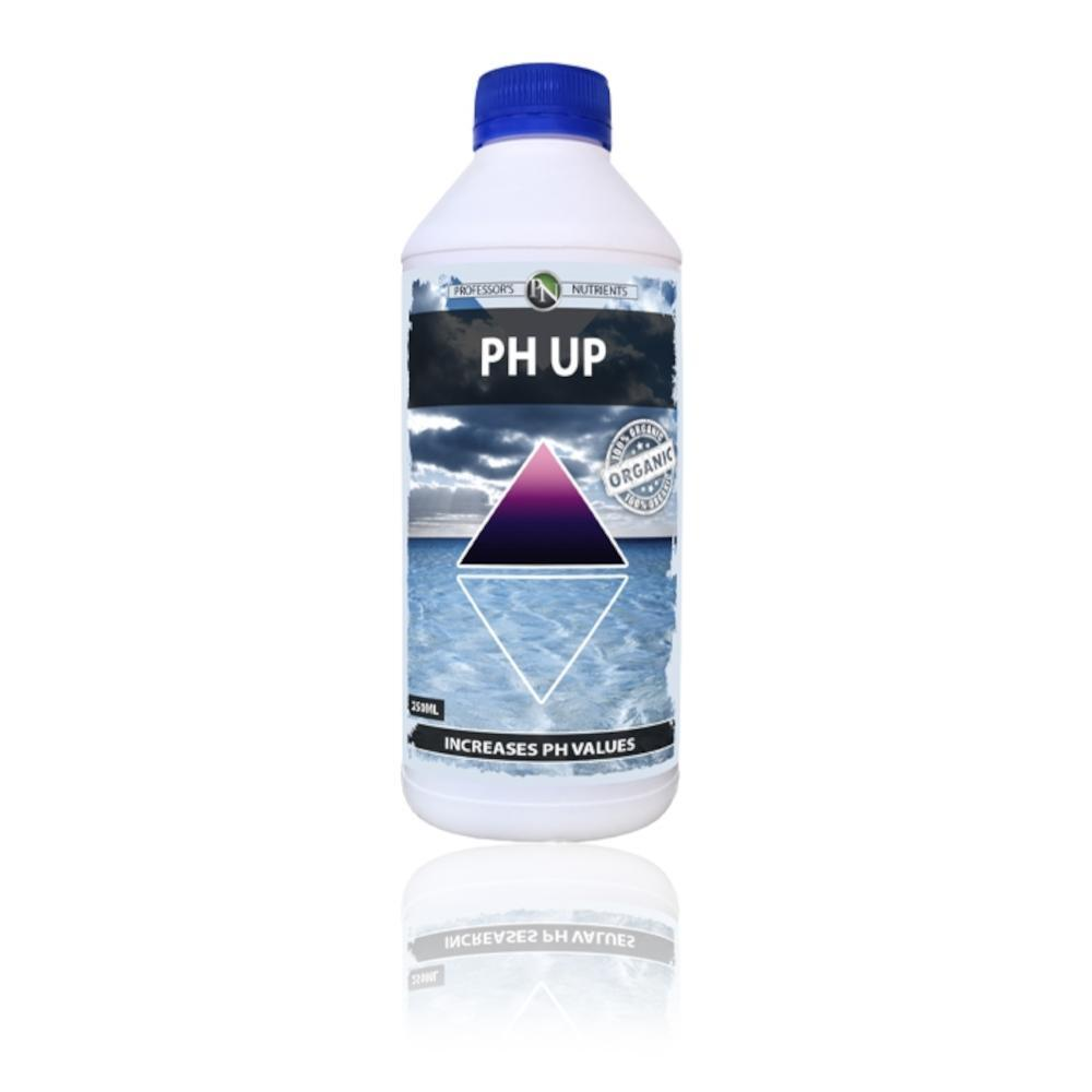 Professors 1L Organic Salt Based pH Up for Organic/Hydroponics Growing Plants