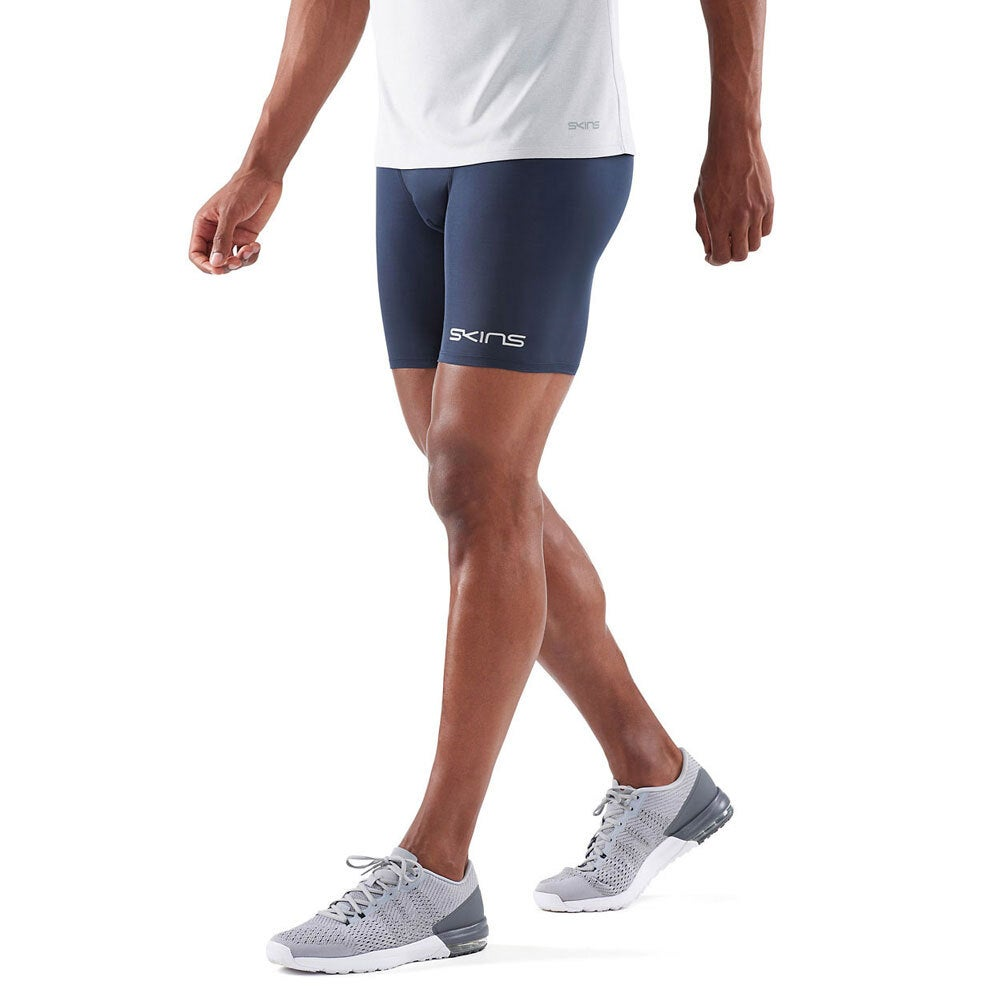 Skins Compression 25cm DNAmic Force Men Half Tights Sport Activewear/Gym NVY 2XL