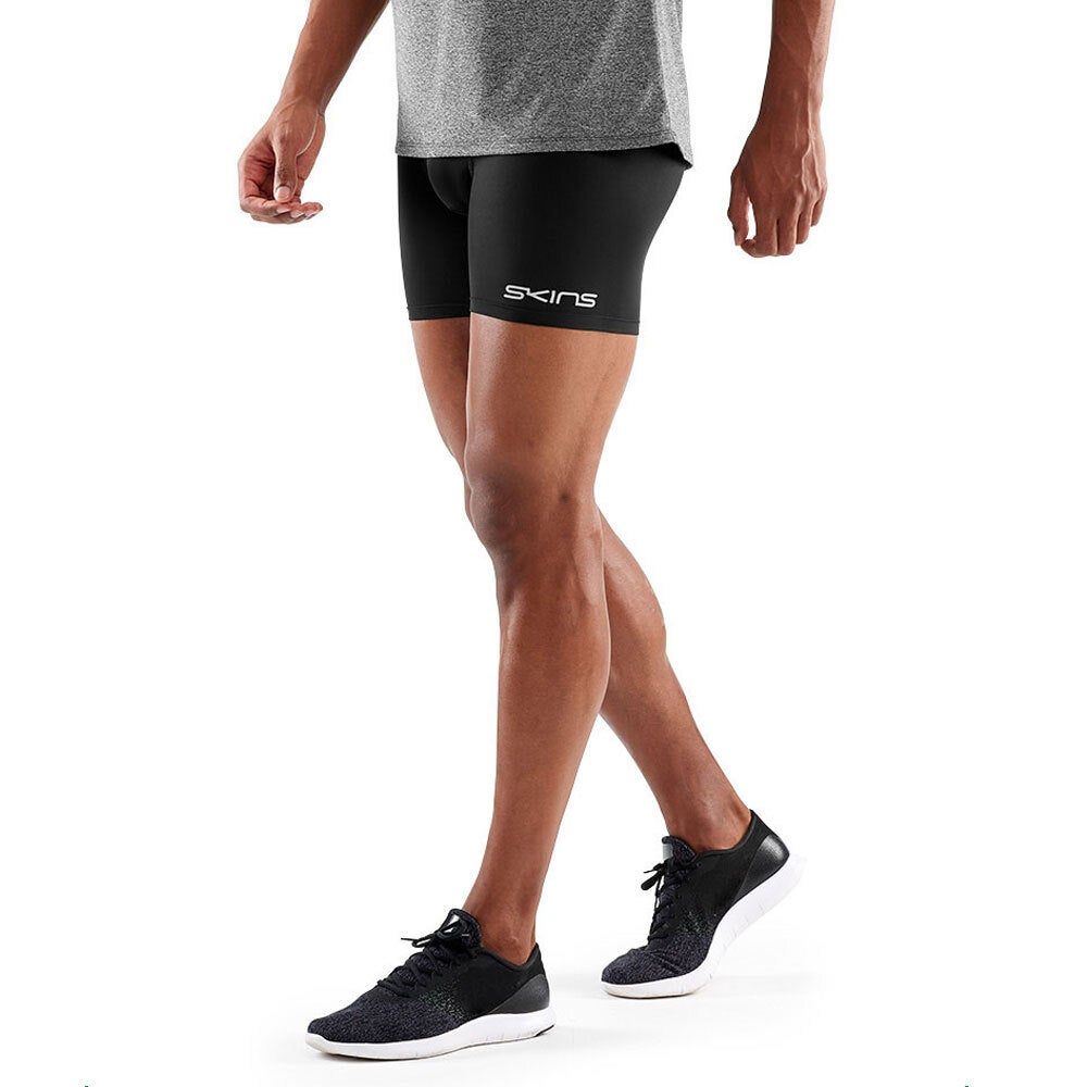 Skins Compression DNAmic Force Mens Shorts Sports Activewear/Gym Tights Black XS