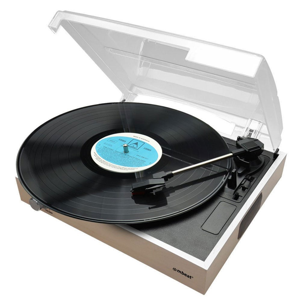 Mbeat Slimline USB Turntable Digital Recorder/Built In Speakers/RCA/Vinyl Player