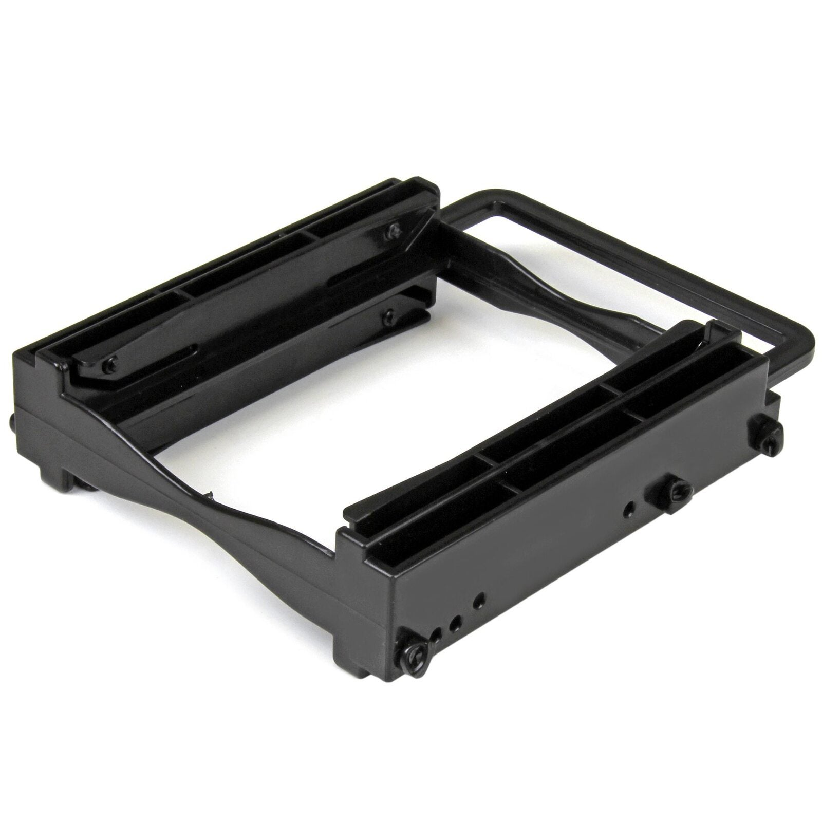 """Star Tech Dual 2.5"""" SSD/HDD to 3.5"""" Bay Mounting Bracket for H5mm/12.5mm Drive"""