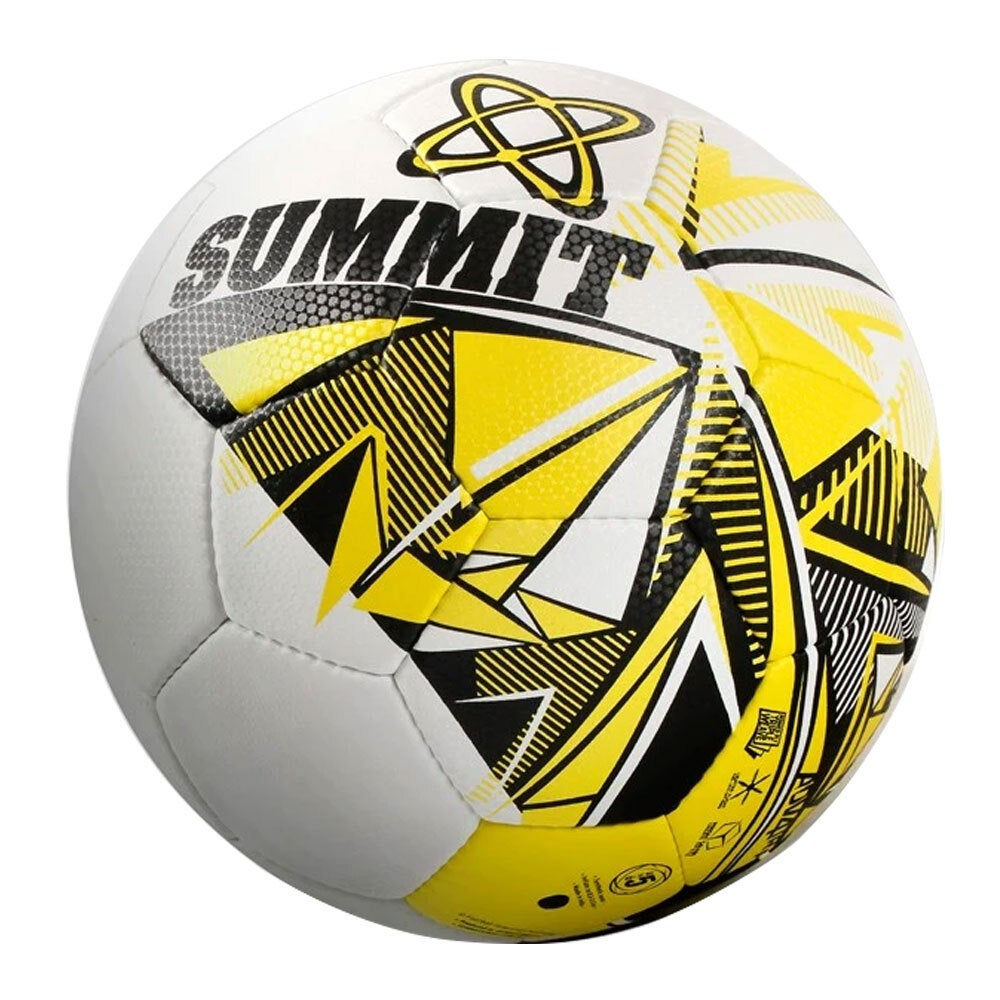 Summit FFA Advance Trainer Soccer Ball Size 5 Sports Outdoor Football Game WH/YL