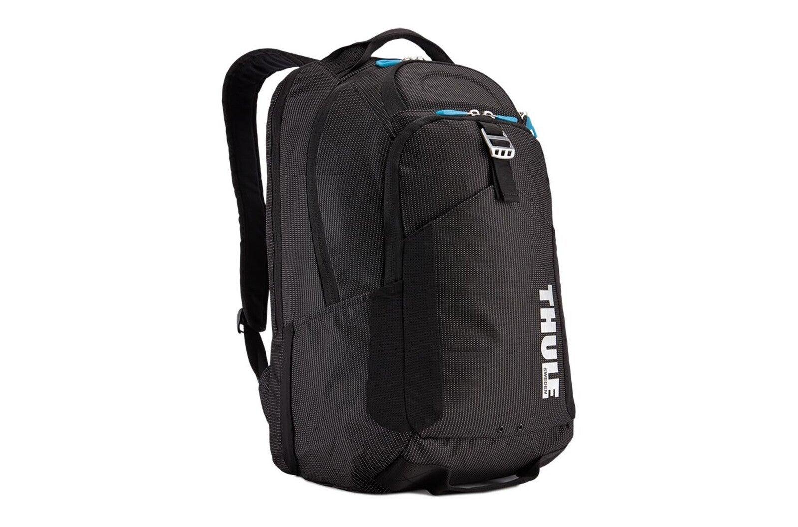"Thule Crossover Prof 32L 47cm Backpack Travel Storage Bag for 15"" MacBook Black"