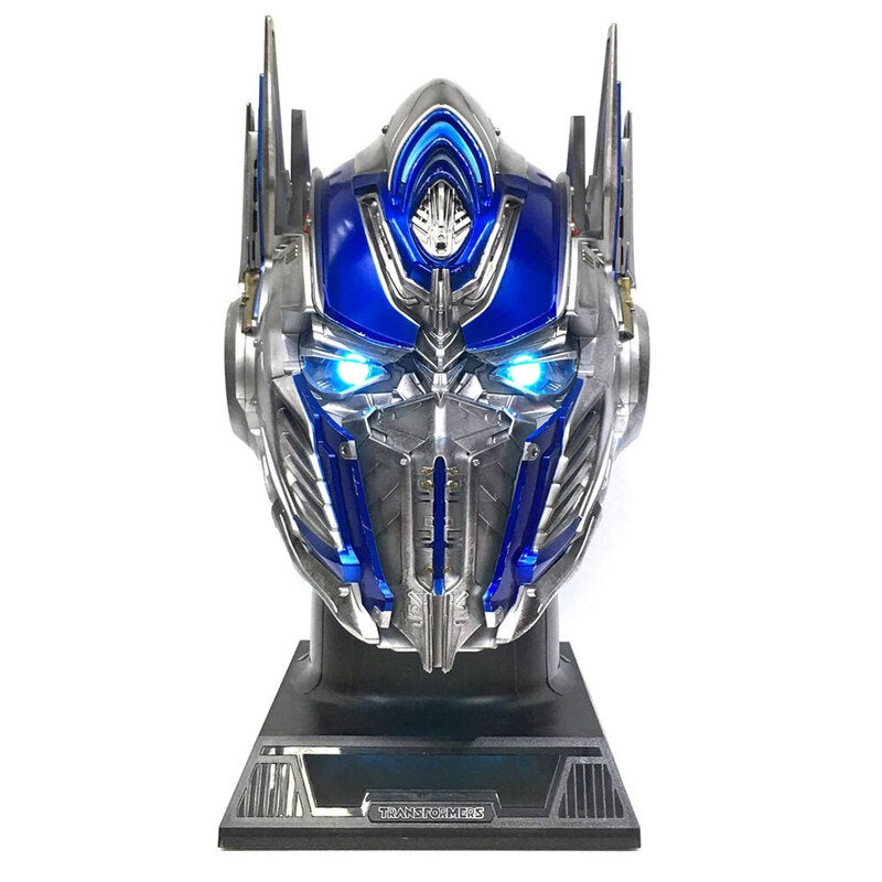 Transformers Optimus Prime Figurative Bluetooth Wireless Speaker Stereo Blue