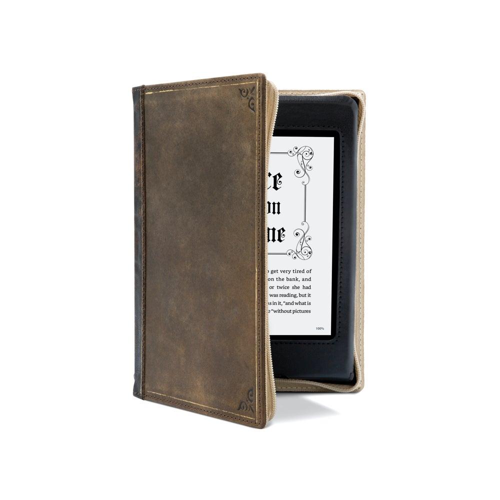Twelve South BookBook Amazon Kindle Paperwhite 10th Gen Folio Case Cover Brown
