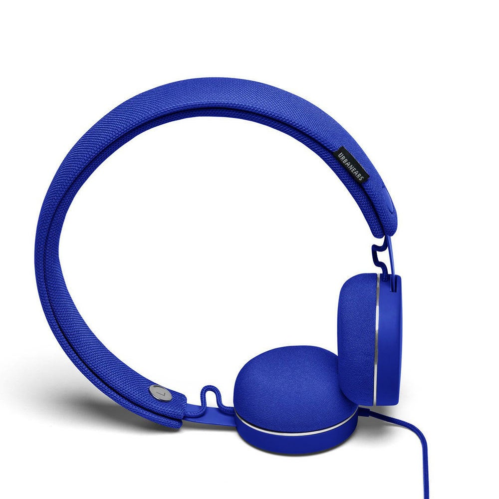 Urbanears Humlan On-Ear Headphones Headset w/Remote Mic for Smartphones Cobalt