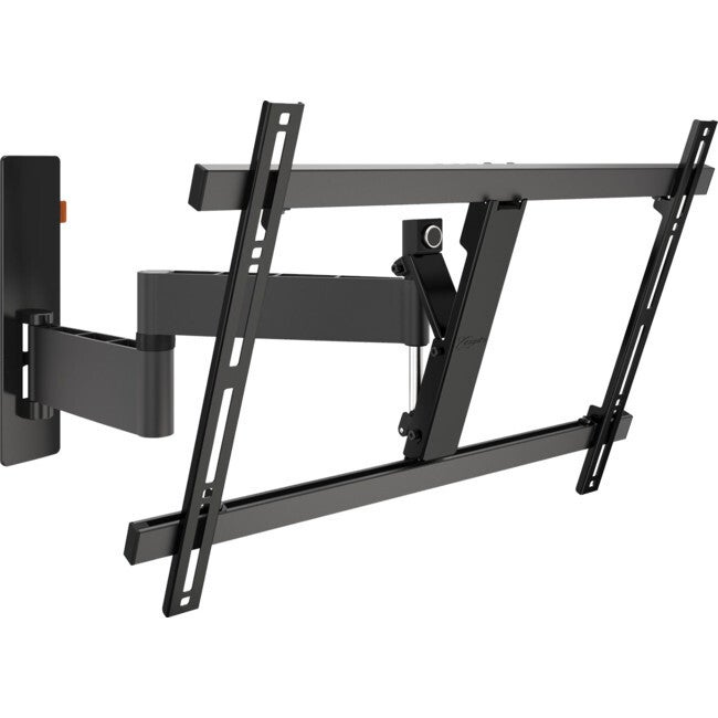 """Vogels 3 Pivot Tilt/Turn Wall Mount Bracket 600x400mm Vesa for 40-65"""" TV Black"""