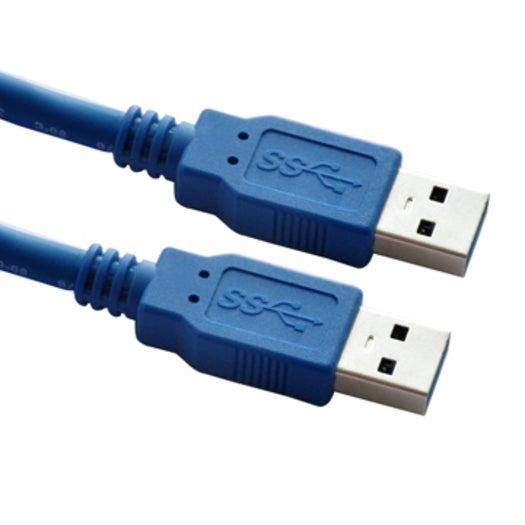 Astrotek 2m USB 3.0 A/A USB cable USB 3.2 Gen 1 (3.1 Gen 1) USB A Blue