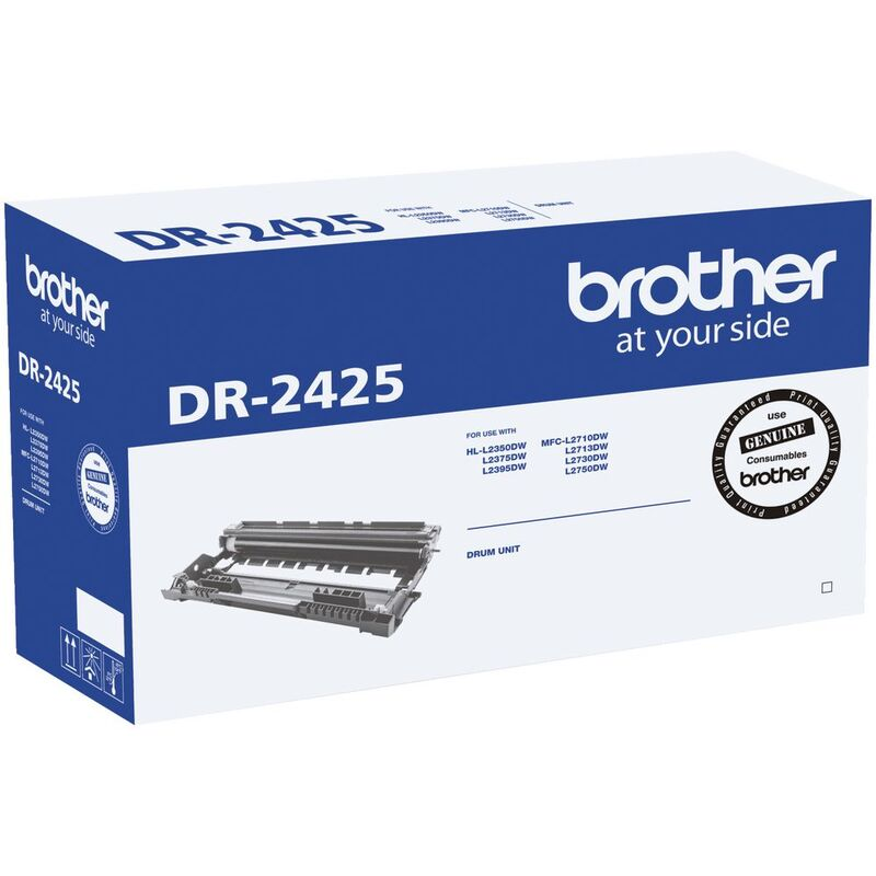 Brother DR-2425 Drum Unit (12,000 pages) for HL-L2350DW, MFC-L2710DW, MFC-L2730DW, MFC-L2750DW
