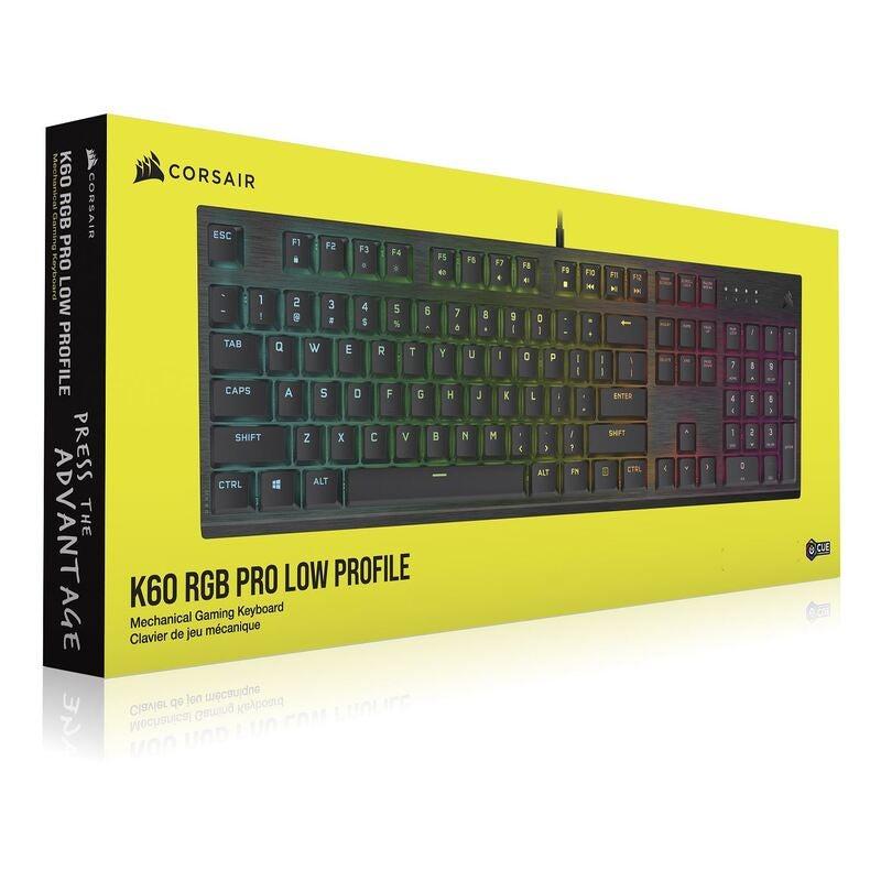 Corsair K60 keyboard USB Black