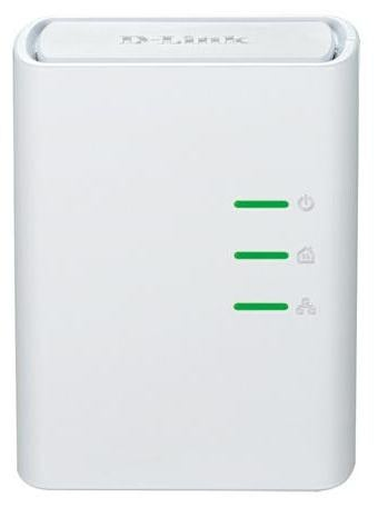 D-Link DHP-308AV PowerLine network adapter 500 Mbit/s Ethernet LAN White 1 pc(s)