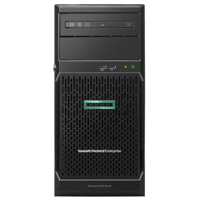 Hewlett Packard Enterprise ProLiant ML30 Gen10 server Intel Xeon E 3.4 GHz 8 GB DDR4-SDRAM 24 TB Tower (4U) 350 W
