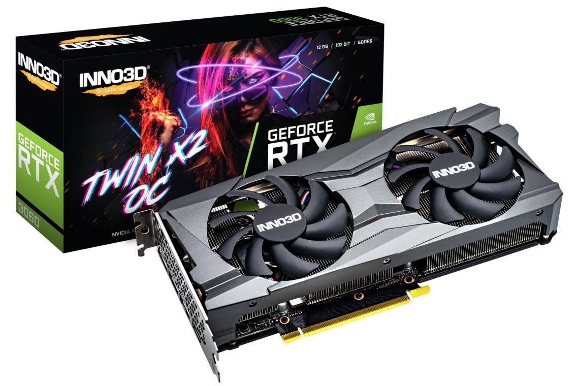 Inno3D GeForce RTX 3060 Twin X2 OC NVIDIA 12 GB GDDR6