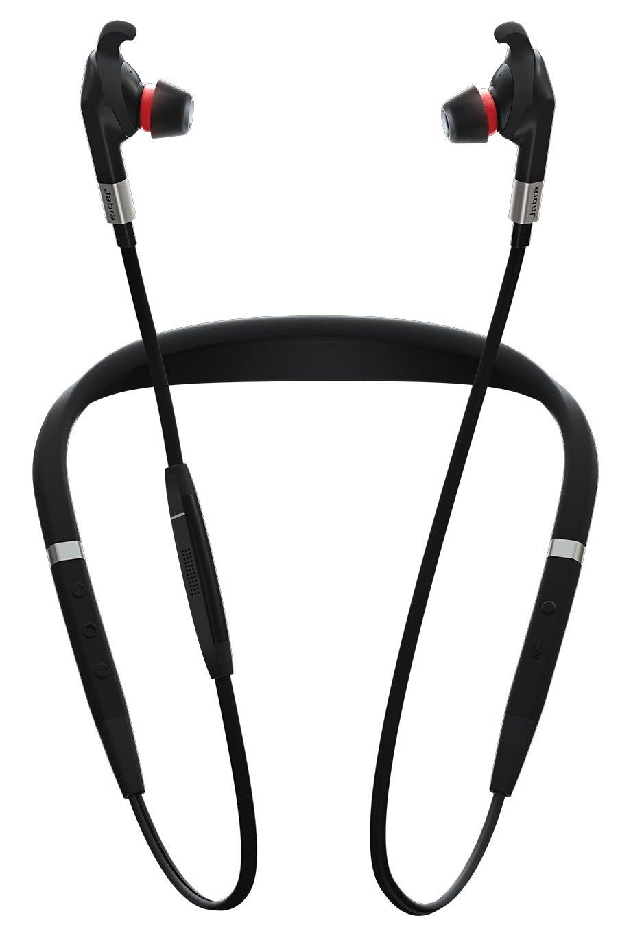 Jabra Evolve 75e Headset Neck-band Bluetooth Black