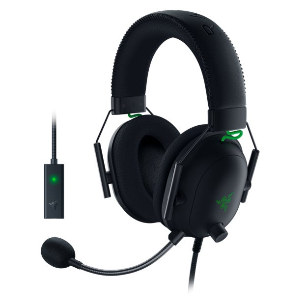 Razer Blackshark V2 Headset Head-band 3.5 mm connector Black, Green