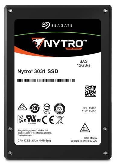 """Seagate Enterprise Nytro 3531 2.5"""" 1600 GB SAS 3D eTLC"""