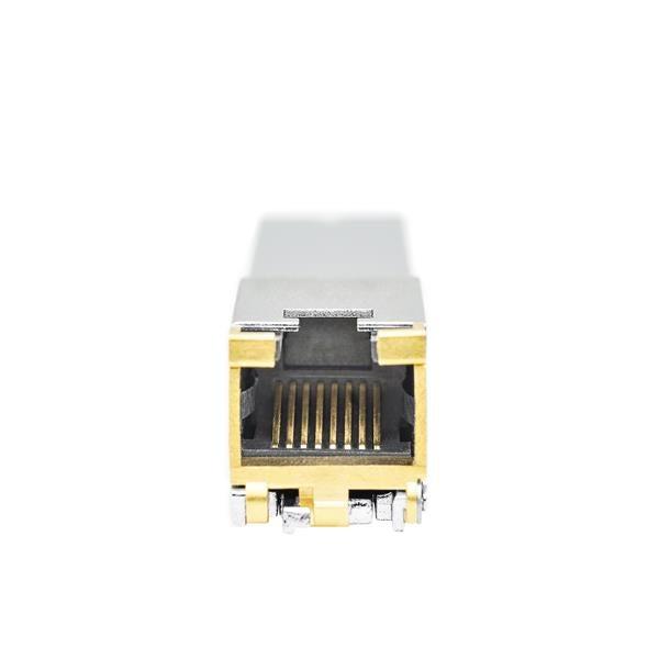 StarTech.com MSA Uncoded SFP+ Module - 10GBASE-T - SFP to RJ45 Cat6/Cat5e - 10GE Gigabit Ethernet SFP+ - RJ-45 30m