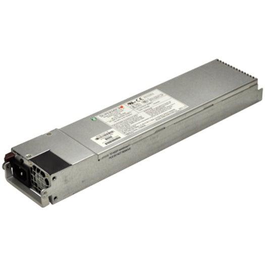 Supermicro PWS-741P-1R power supply unit 740 W 1U Stainless steel