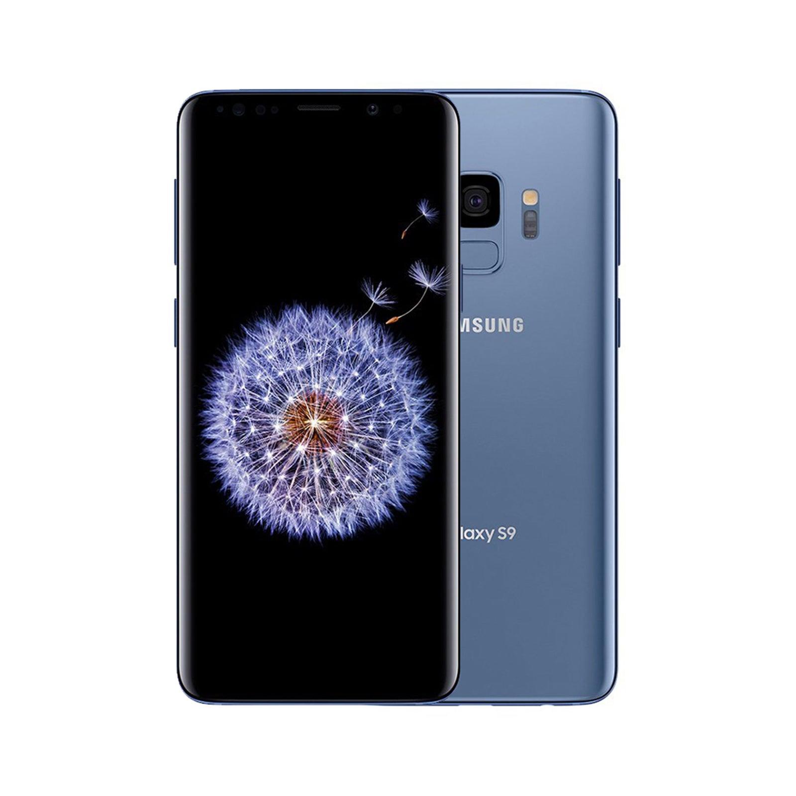 Samsung Galaxy S9 64GB Coral Blue - Refurbished (Good)